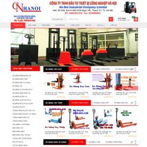 Website Bán Hàng Bán Xe Nâng WBT05