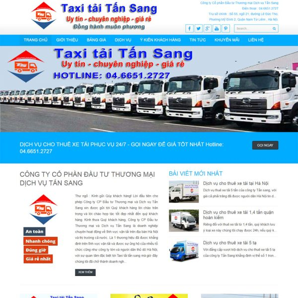 Website-dich-vu-taxi-tai