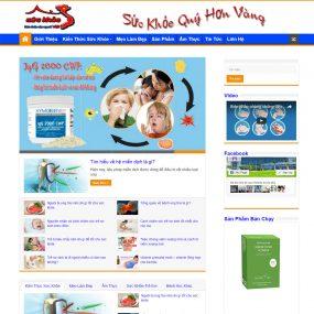 Website Tin Tức Dịch Vụ đẹp Nhẹ Dễ Dùng WBT29
