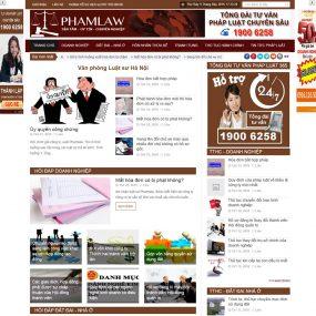 Website Tin Tức Tư Vấn Luật Pháp Hỏi đáp WBT34