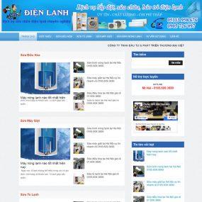 Website Dịch Vụ Sửa Chữa điện Tử điện Lạnh WBT36