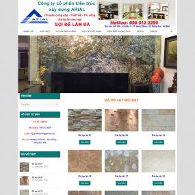 Website Thiết Kế Thi Công Làm đá ốp Lát WBT42