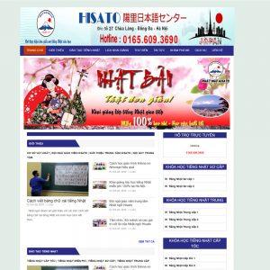 Website Trung Tâm Tiếng Nhật Ngoại Ngữ WBT46