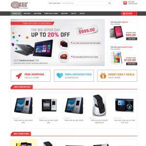 Website Bán Hàng đồ Công Nghệ Máy Chấm Công Camera WBT49