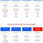 Hosting doanh nghiệp và website thương mại điện tử giá rẻ