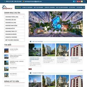 Website Tin Tức Giới Thiệu Dự án Bất động Sản WBT25