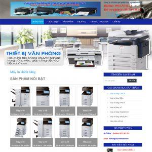 Website Giới Thiệu Và Bán Máy In Máy Photo In ấn WBT51