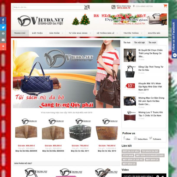 DAW54 Website Ban Vi Day Lung Da