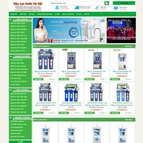 Website Giới Thiệu Và Bán Máy Lọc Nước WBT55