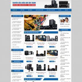 Website Bán Và Sửa Chữa Dàn âm Thanh WBT57
