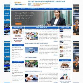 Website Dịch Vụ Cho Vay Vốn Tín Dụng WBT58