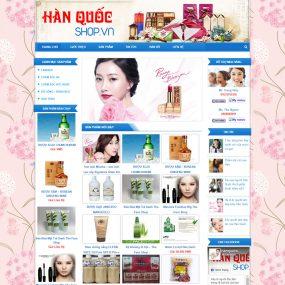 Website Bán Hàng Hàn Quốc WBT59