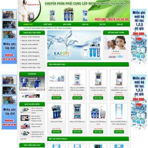 Website Bán Máy Lọc Nước Giá Rẻ WBT62