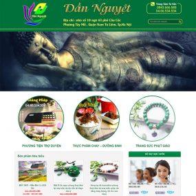 Website Bán đồ Phật Pháp Tâm Linh WBT64