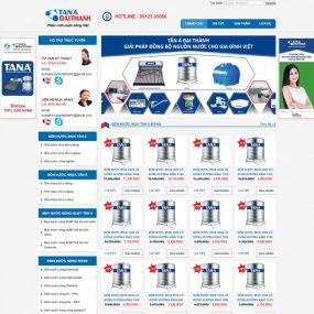 Website Bán Bồn Nước Inox Tân á WBT65