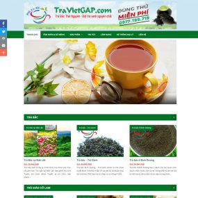 Website Bán Chè Thái Nguyên đặc Sản WBT68
