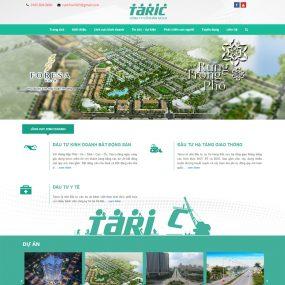 Website Giới Thiệu Công Ty Xây Dựng Cầu đường WBT79