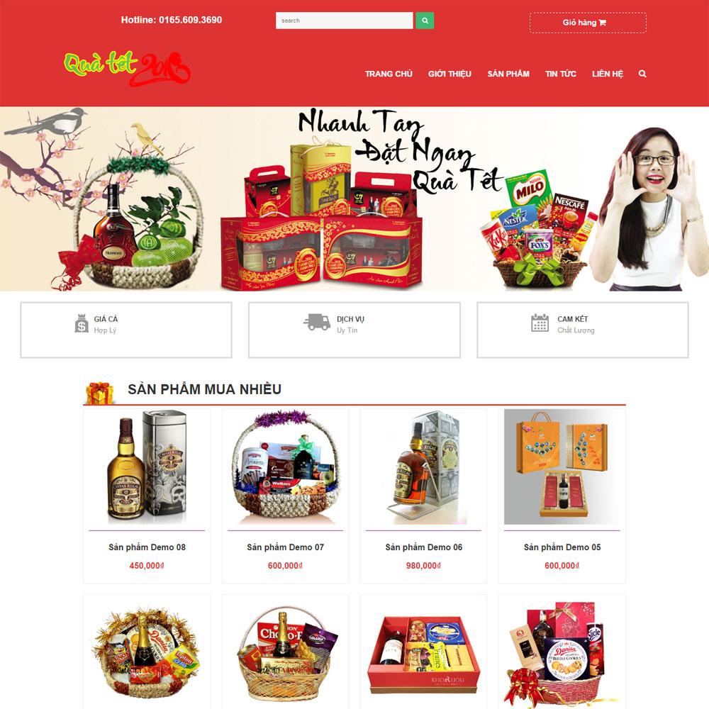 Website Quà Tặng WBT83