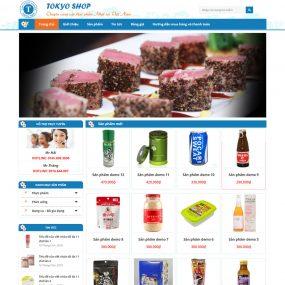 Website Bán Thực Phẩm Nhật Bản WBT86