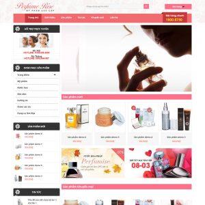 Website Mỹ Phẩm – Làm đẹp WBT87