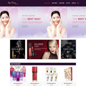 Website Mỹ Phẩm – Làm đẹp WBT91