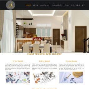 Website Thi Công Thiết Kế Nội Thất WBT103