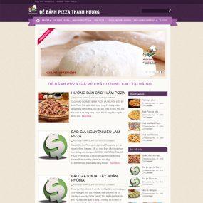 Website Làm Bánh Pizza WBT99