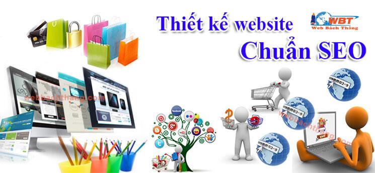 Thiết Kế Website Chuẩn Seo Tại Web Bách Thắng