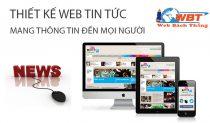 Thiết Kế Website Tin Tức Giá Rẻ