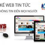 Thiết Kế Website Tin Tức, Tạp Chí Chuyên Nghiệp Giá Rẻ