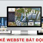 Thiết kế website bất động sản giá rẻ, chuyên nghiệp, hiệu quả