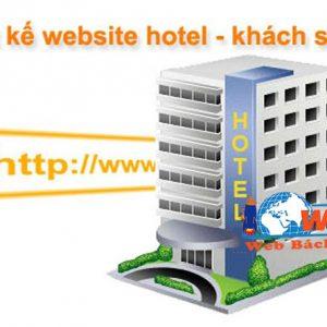 Thiết Kế Website Khách Sạn Chuyên Nghiệp - Giá Rẻ