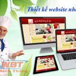 Thiết Kế Website Nhà Hàng – ẩm Thực Hiện đại, Sang Trọng, độc đáo