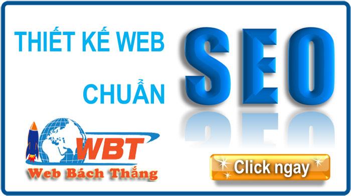 Thiết kế website chuẩn seo tại Vĩnh Phúc