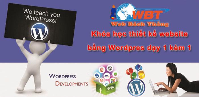 Khóa học thiết kế website online