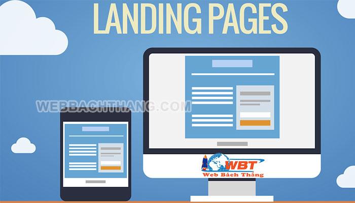 Thiết kế Landing Page chuyên nghiệp chuẩn seo