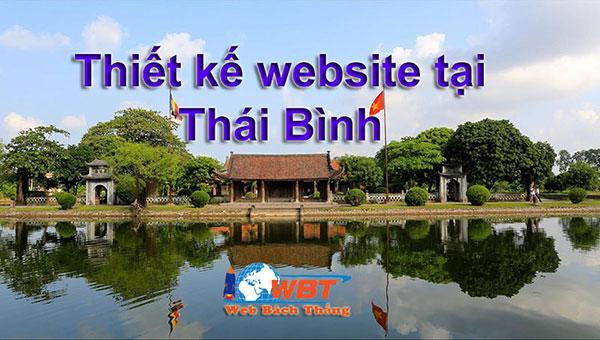 thiết kế website tại thái bình