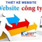 Thiết kế website giới thiệu công ty hiện đại, chuyên nghiệp giá rẻ