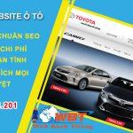 Thiết Kế Website ô Tô Chuyên Nghiệp