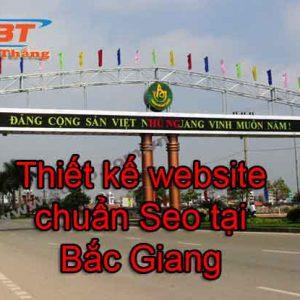 Thiết Kế Website Tại Bắc Giang Chuẩn Seo