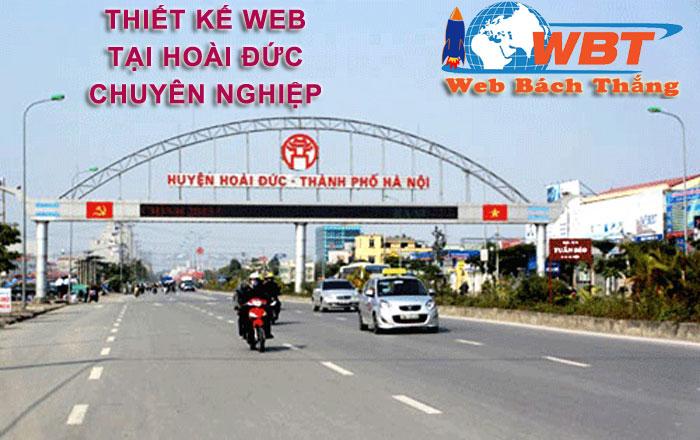 Thiết kế website tại hoài đức chuyên nghiệp