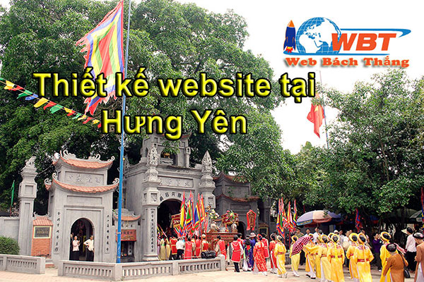 thiết kế website tại hưng hưng chuyên nghiệp