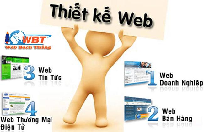 thiết kế website WBT