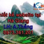 Thiết kế website tại Hà Giang chuyên nghiệp chuẩn seo
