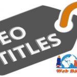 Title là gì? Cách viết tiêu đề chuẩn seo tối ưu từ khóa lên TOP 1 google.