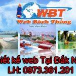 Thiết Kế Website Tại Đắk Nông, Uy Tín, Giá Rẻ Chuẩn SEO