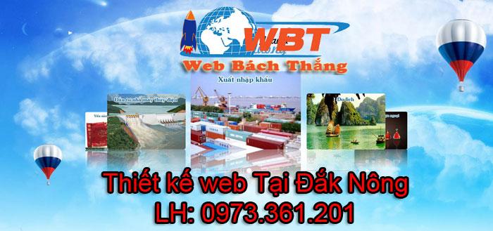Thiết kế website giá rẻ tại Đắk Nông
