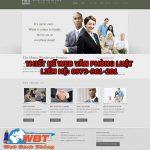 Thiết Kế Website Công Ty Luật Chuyên Nghiệp Chuẩn Seo