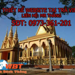THIẾT KẾ WEBSITE TẠI TRÀ VINH CHUẨN SEO