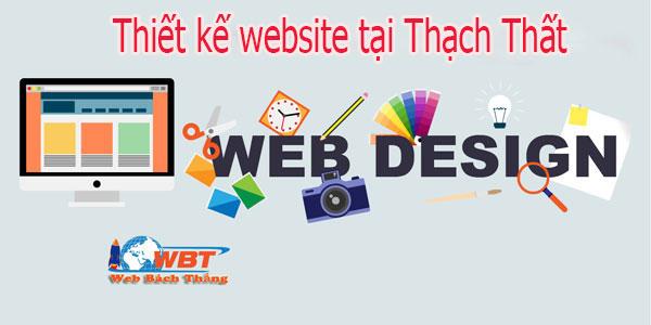 Thiết kế website tại Thạch Thất